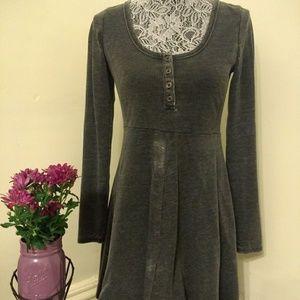 Others Follow Distressed Grey Dress